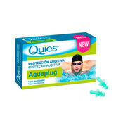 Quies Aquaplug Silicone Earplug Adult 1pair
