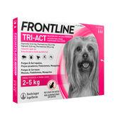 Frontline Triact Dogs 2-5Kg 3U