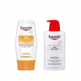 Eucerin Lotion Solaire SPF 30 150ml + Ph5 Lotion Peaux Sensibles 200ml