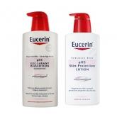 Eucerin Pack Ph5 Gel Lavant Et Lait Corporel 2x400ml
