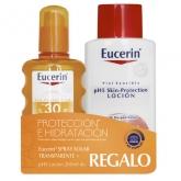 Eucerin Spray Solaire Transparent Spf30 200ml Set 2 Produits