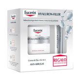 Eucerin Hyaluron Filler Soin De Jour Peau Sèche 50ml Coffret 2 Produits