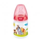 Nuk Biberon First Choice Winnie The Pooh Latex S1 1 M (latte) 0 - 6 Mois 150ml