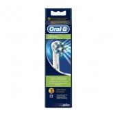 Oral-B CrossAction brossettes 3 Unités