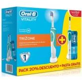 Oral-B Brosse À Dents Électrique Vitality Plus TriZone Pack Spécial 2 Unités
