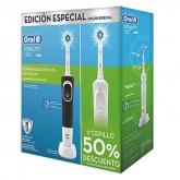 Oral B Brosse À Dents Èlectrique Vitality Crossaction Coffret 2 Produits