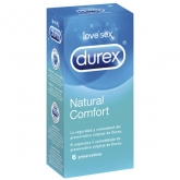 Durex Natural Plus Latex 6 Profilattici