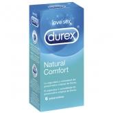 Durex Natural Plus Latex 6 Préservatifs