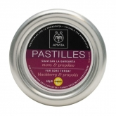 Apivita Pastilles For Store Throat Blackberry & Propolis 45g