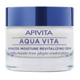 Apivita Aqua Vita Advanced Moisture Revitalizing Cream For Normal Dry Skin 50ml