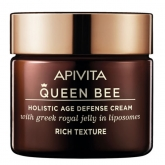 Apivita Queen Bee Holistic Age Defense Cream Rich Texture 50ml