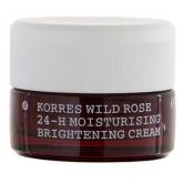Korres Rose Sauvage Crème Hydratante 24H Et Éclaircissante Peaux Normales A Seches 40ml