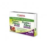Ortis Classique Fruit et Fibres 24 Cubes À Mâcher
