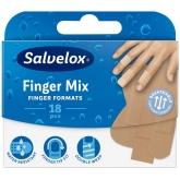 Salvelox Finger Mix Pansement Pour Les Doigts 18 Unités