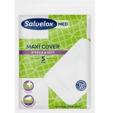 Salvelox Maxi Cover Pansements 5 Unités 76x54mm