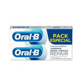 Oral-B Repair Gums & Enamel Whitening Toothpaste 2x75ml