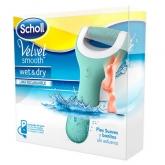 Scholl Velvet Smooth Râpe électrique Scholl Wet Et Dry, 1 Unitè