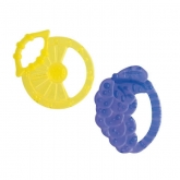 Chicco Silicone Teething Ring Solf Relax 2M+ 2 Units
