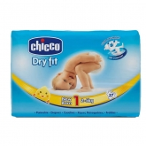 Chicco Dry Fit Couches Taille 1 2-5kg 27 Unités