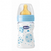 Chicco Well-Being Baby Bottle PP Normal Flux Blue 0m+ 150ml