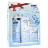 Chicco Natural Sensation Bath Set 3 Pieces