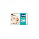 Chicco Ultra Soft Newborn Diapers 3-6Kg 25 Units