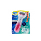 Scholl Velvet Smooth Electronic Foot Care System With Exfoliating Refill Head