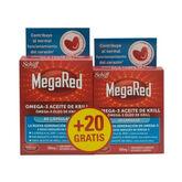 MegaRed Omega 3 Krill Oil 60+20 Capsules