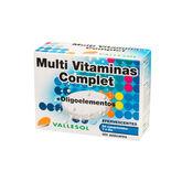 Vallesol Multivitamins Complet +Trace Elements Effervescent 24 Tablets
