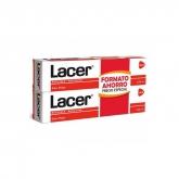 Lacer Dentifrice Antiplaque Anticaries 2x125ml