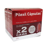 Pilexil Hair And Nail Capsules 2x100 Units