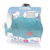 Sebamed Baby Whale Backpack Set 6 Pieces