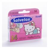 Salvelox Pansement Enfants Hello Kitty 14 Unités
