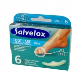 Salvelox Foot Care Small Blisters 6 Units 21×64 mm.
