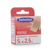 Salvelox Pansement Textile Hypoallergénique 5x2.5cm