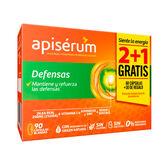 Apisérum Defenses Pack 3 months 90 capsules