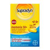 Supradyn Memory 50+ 30 Tablets
