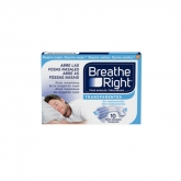 Breathe Right Bandes Nasales Transparentes Grande Taille 10 Unités