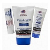 Neutrogena Scented Hand Cream 50ml + Lip Care Spf 20 4.8g