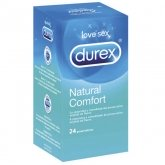 Durex Natural Plus Latex 24 Unités
