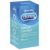 Durex Natural Plus Latex 24  Kondome