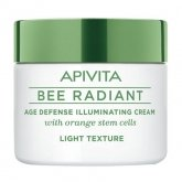 Apivita Bee Radiant Age Defense Illuminating Cream Light Texture 50ml