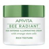 Apivita Bee Radiant Age Defense Illuminating Cream Rich Texture 50ml