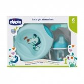 Chicco Let's Get Started 6m+ Blue Set 3 Pieces