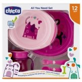 Chicco All You Need 12m+ Pink Set 5 Pieces