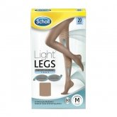 Scholl Compression Tights 20 Den Size M Skin Color