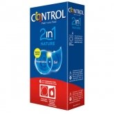 Control Duo Nature 2en1 Préservatifs + Gel 6 Unités