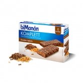 Bimanán Sustitutive Chocolate Komplett Bars 8 Units