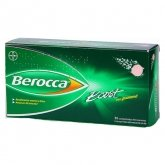 Berocca Boost 30 Comprimés Effervescents Guarana
